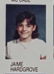 Jaime as a 4th grader